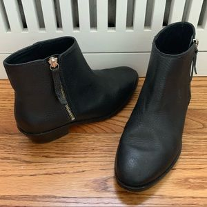 J Crew leather booties
